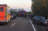 14.10.2019  – THL-Einsatz – Verkehrsunfall zw. Mallersdorf und Scharn